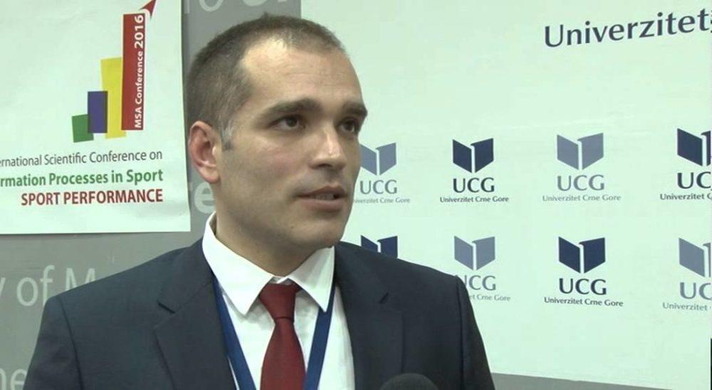 dekan Fakulteta za sport i fizičko vaspitanje Stevo Popović