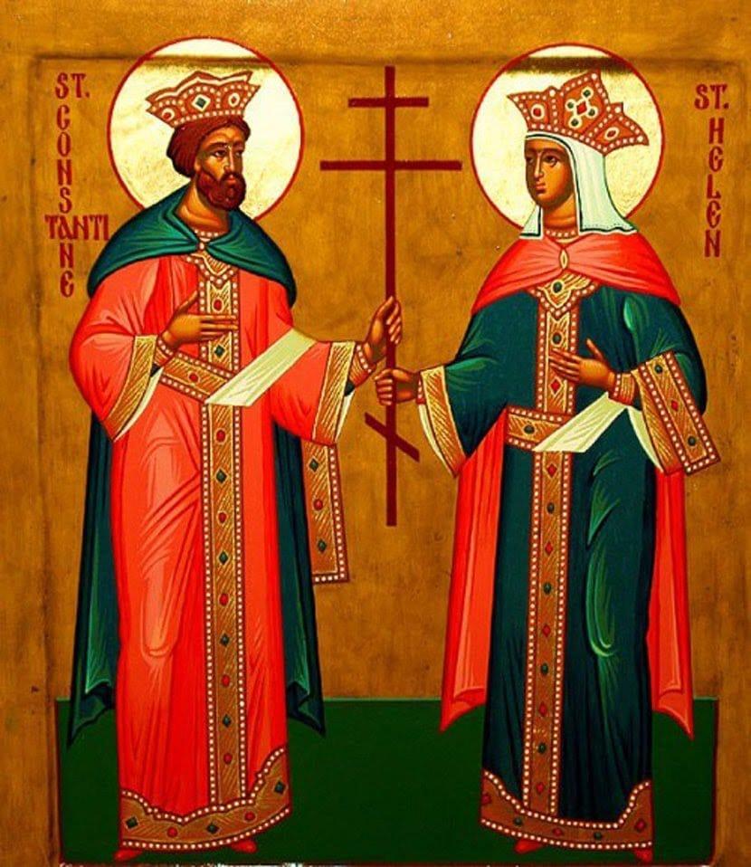 Danas su Sveti car Konstantin i carica Jelena, svetac, crkva