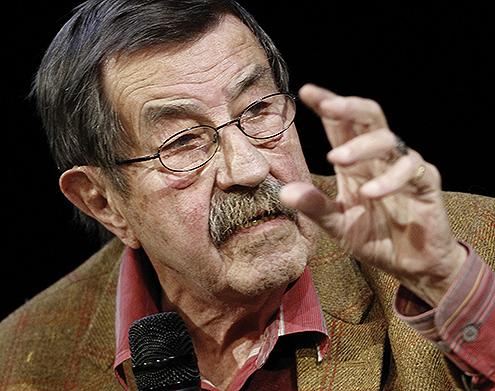 Ginter Gras, njemački pisac,