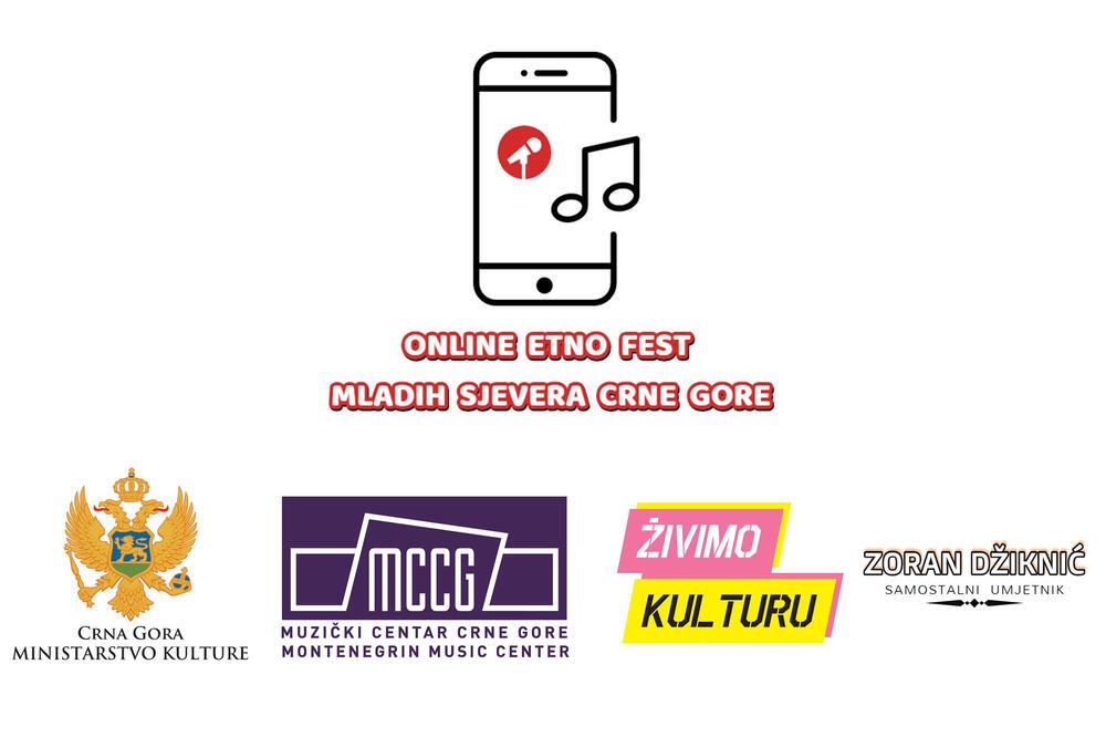 """""""Online aktivizacija i promocija muzičkog staralaštva mladih sjevera Crne Gore i očuvanje muzičke kulturne baštine Crne Gore"""""""