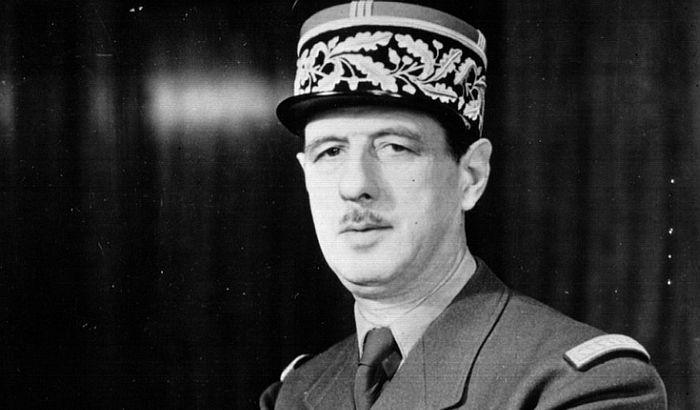 Šarl de Gol, francuski vojni zapovjednik i državnik,