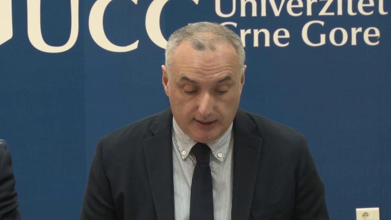 Rektor Dragan Nikolić