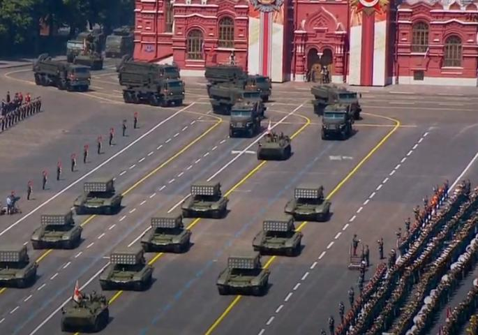 parada pobjede moskva