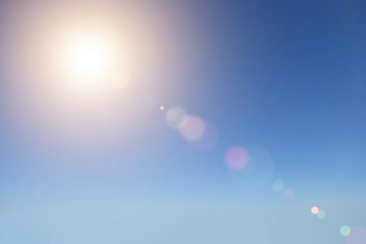 sunce, nebo