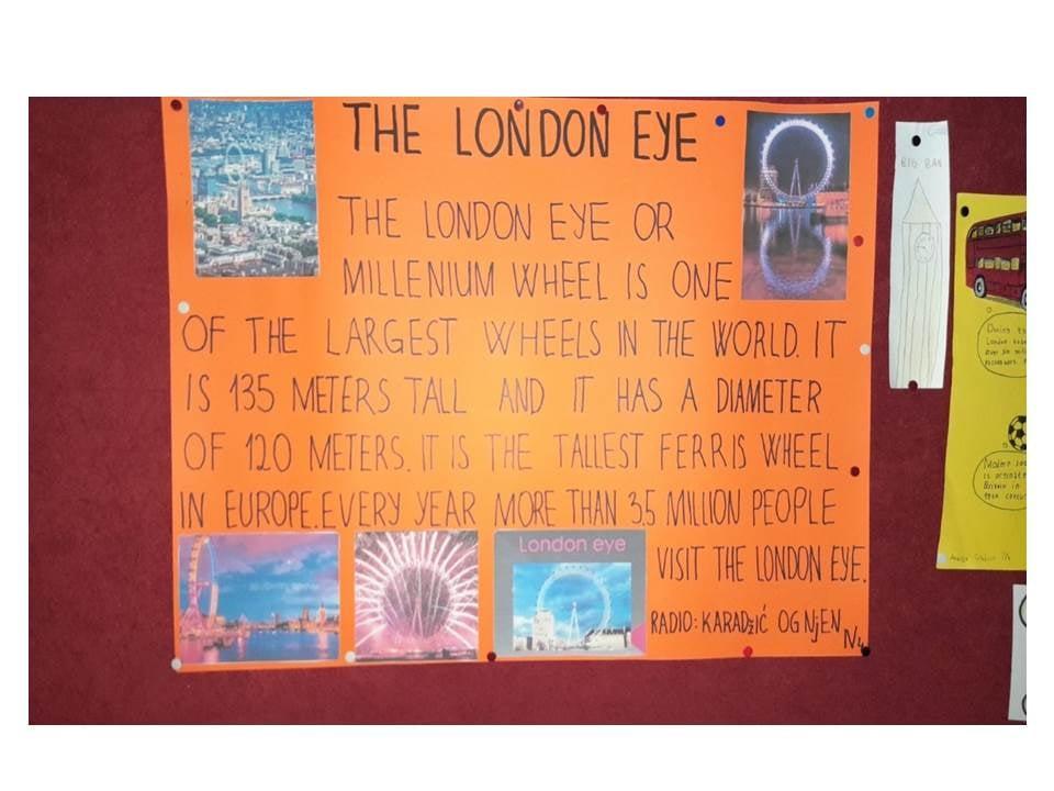 Učenici škole Ratko Žarić učestvovali u projektu Visit London