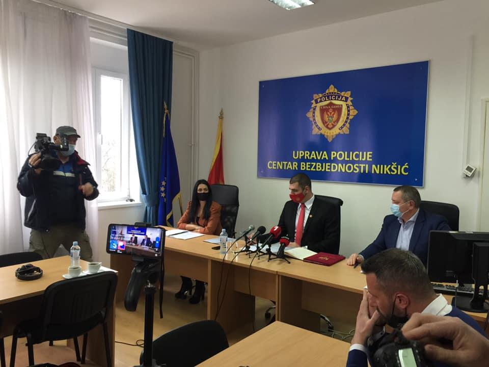 Milošević: Situacija u Nikšiću umjerana ka visokom riziku uoči lokalnih izbora