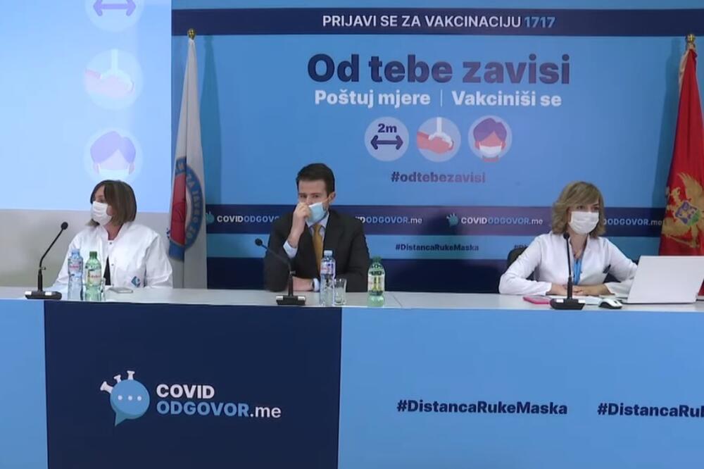 Mjere, IJZ, Ministarstvo zdravlja, Maja Božović, Berane