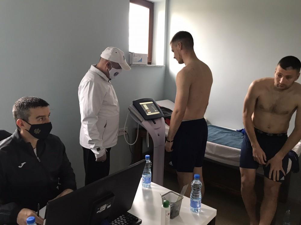 """Profesori Fakulteta za sport i fizičko vaspitanje Univerziteta Crne Gore, """"Putevima moga grada"""", testiranje, Liga Evrope"""