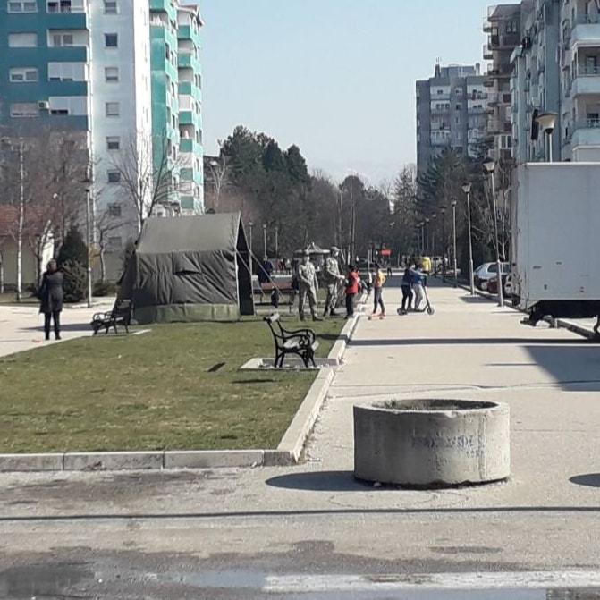 Vojska u Podgorici i Nikšiću kontroliše sprovođenje mjera