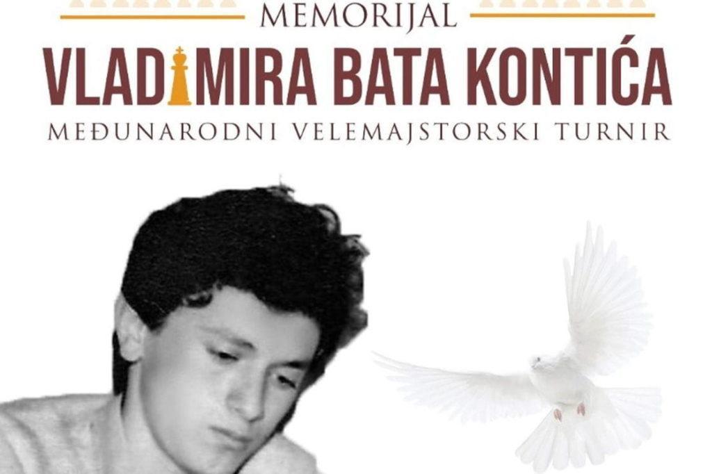 """Memorijalni šahovski turnir """"Vladimir Bato Kontić"""", Nikšić, Šahovski savez"""