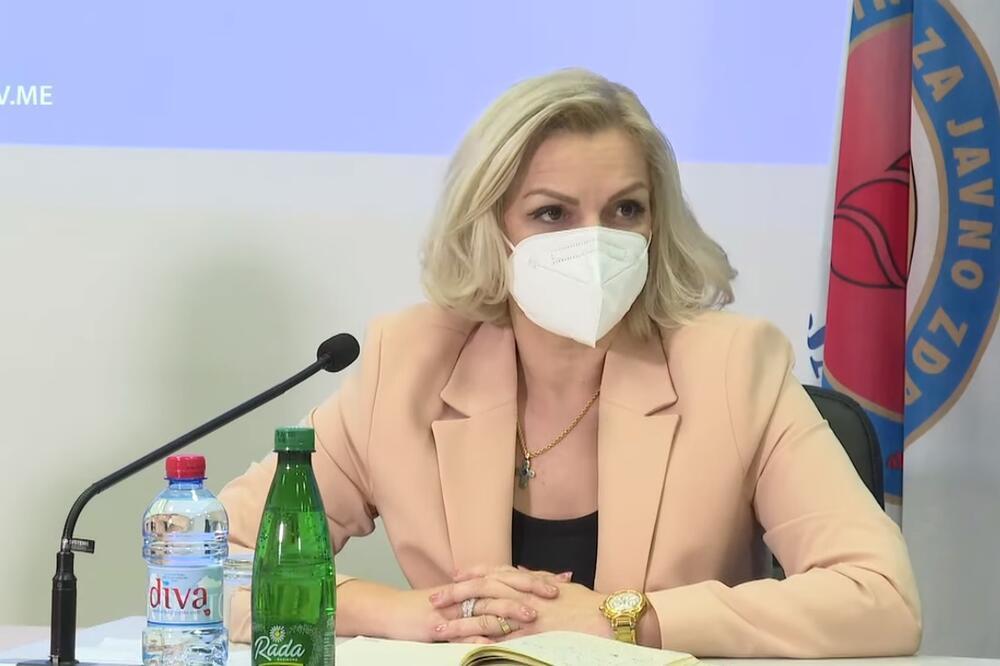 mjere, vakcine, Crna Gora, Jelena Borovinić Bojović