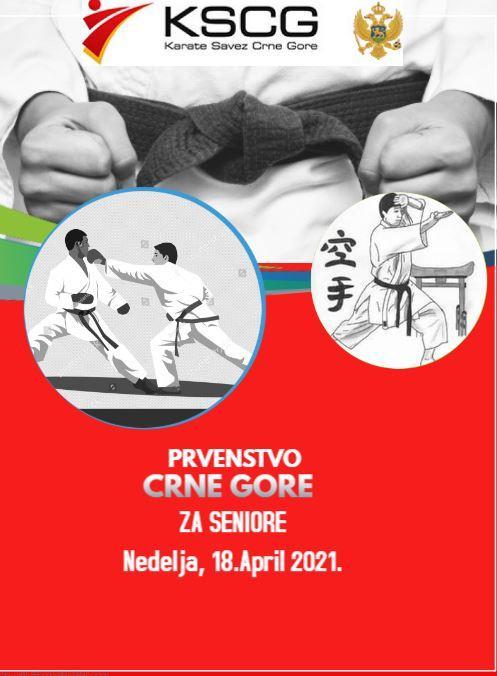Karate prvenstvo Podgorica, seniori