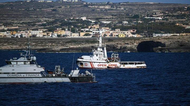 SOS Mediteran, brod, 130 migranata