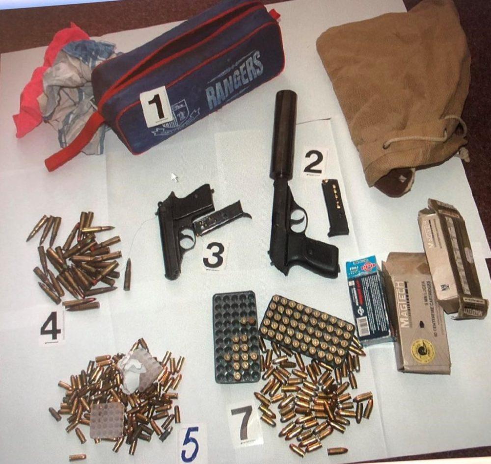 ulcinjaska policija, oružje