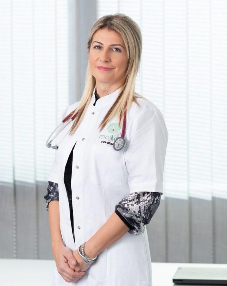 Nena Milačić, vakcinacija, vakcine