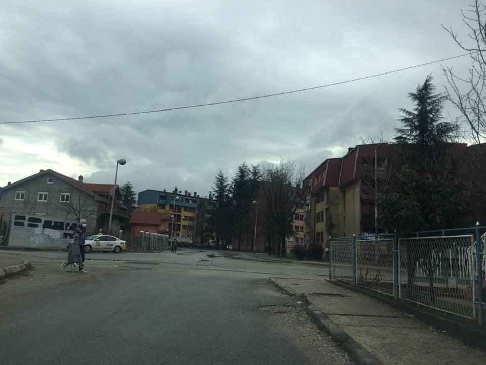 Kišovito jutro u Nikšiću