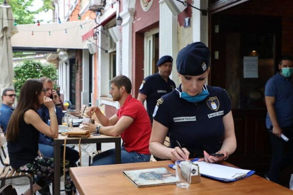 Za dvije sedmice inspekcije naplatile preko 72.000 eura kazni zbog kršenja mjera