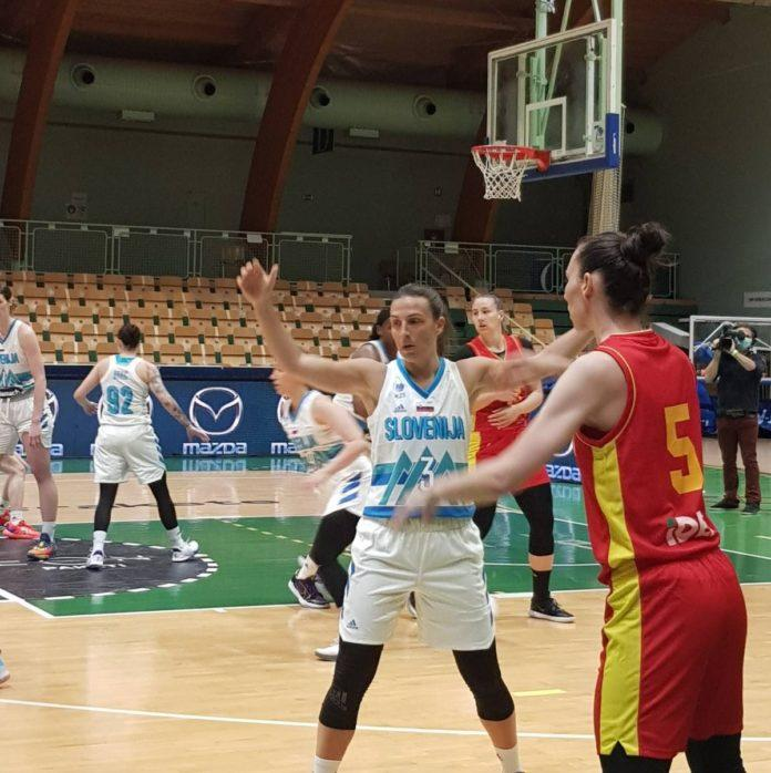 košarkašice, slovenija, poraz