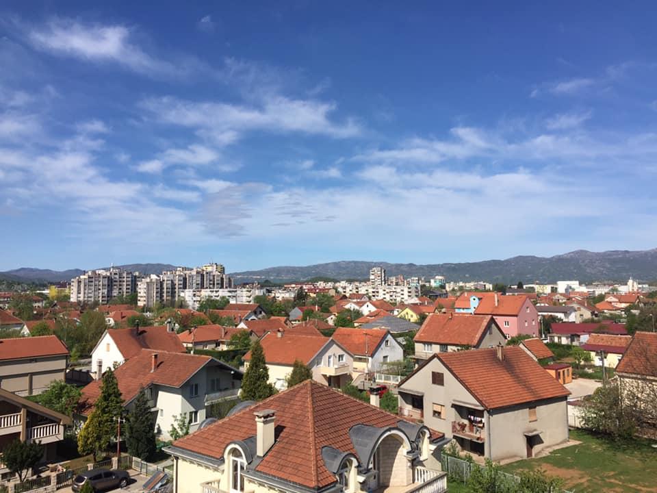 Sunčano jutro u Nikšiću