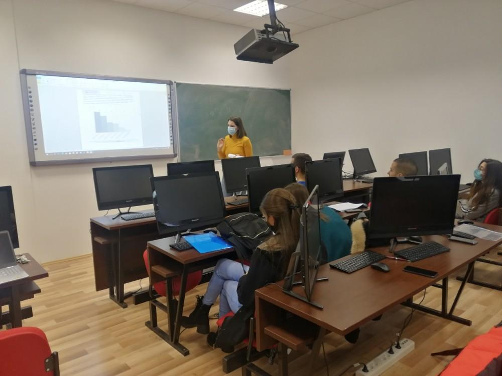e-VIVA projeka, Druga generacija studenata, obuka