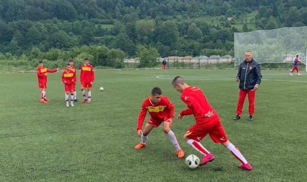 mlađi pioniri , kamp, fudball