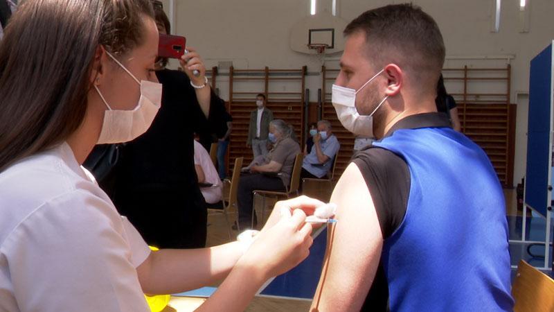 Nemanja Vuković, vakcina, koronavirus