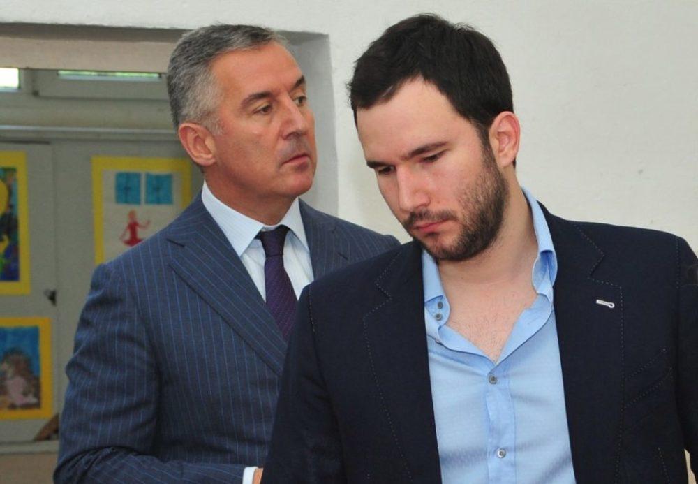 Milo Đukanović i Blažo Đukanović